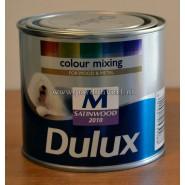 Dulux zijdeglans waterbasis 0,5 lt.