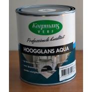 Koopmans hoogglans aqua kleur