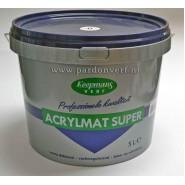 Koopmans acrylmat super kleur 5 lt.