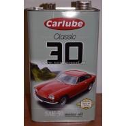 Klassieke motorolie SAE 30 4,5 liter
