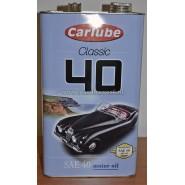 Klassieke motorolie SAE 40 4,5 liter